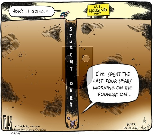 Tom Toles on Sunday May 25, 2014 Comic Strip