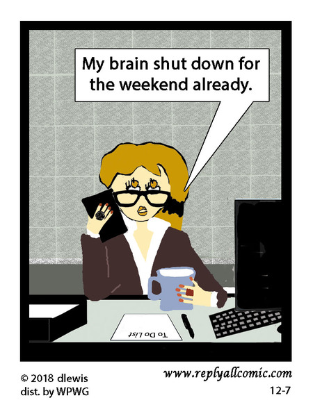 Reply All Lite Comic Strip for December 07, 2018