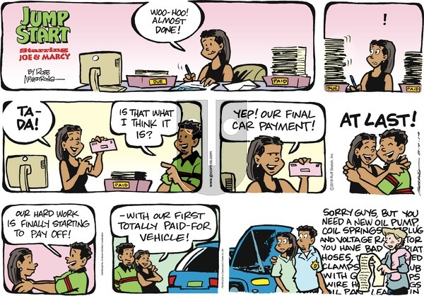 JumpStart on Sunday August 4, 2019 Comic Strip