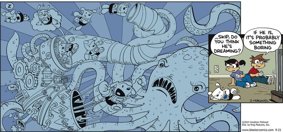 Bleeker: The Rechargeable Dog Comic Strip for September 26, 2021