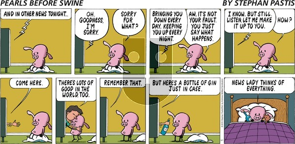 Pearls Before Swine on Sunday September 1, 2019 Comic Strip