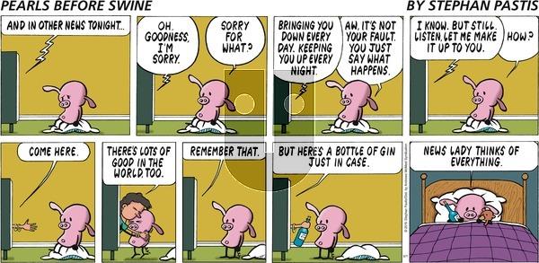 Pearls Before Swine - Sunday September 1, 2019 Comic Strip