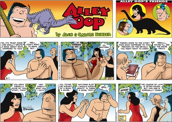 Alley Oop on Sunday June 1, 2014 Comic Strip