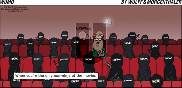 WuMo on Sunday May 12, 2019 Comic Strip