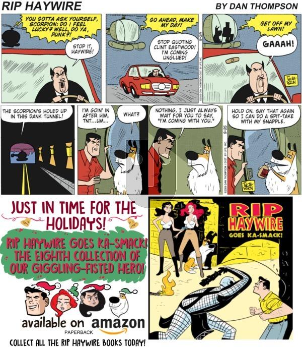 Rip Haywire on December 2, 2018 Comic Strip
