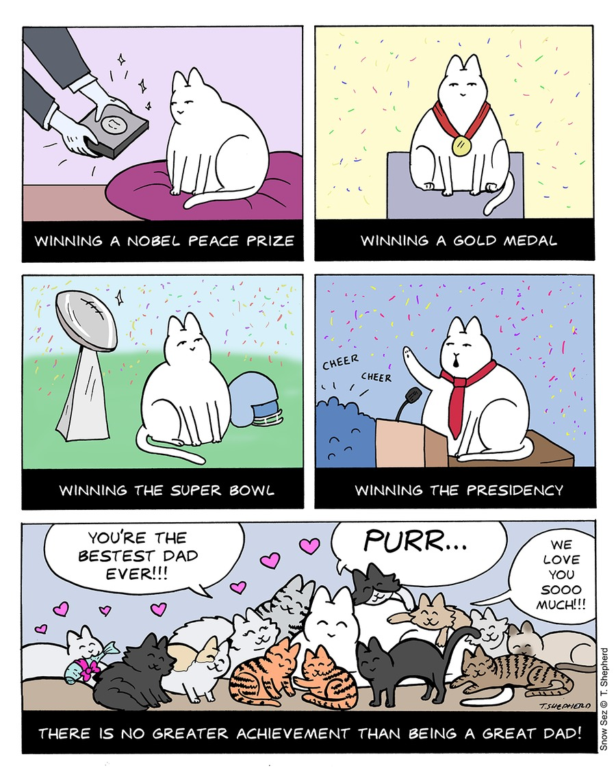 Snow Sez Comic Strip for June 17, 2018