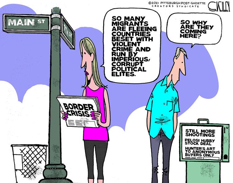 Steve Kelley Comic Strip for July 11, 2021