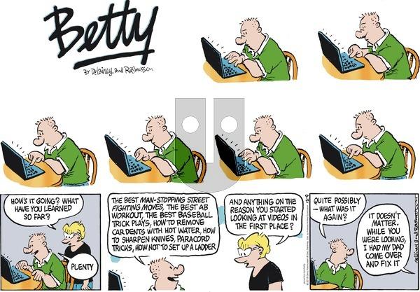 Betty on December 9, 2018 Comic Strip