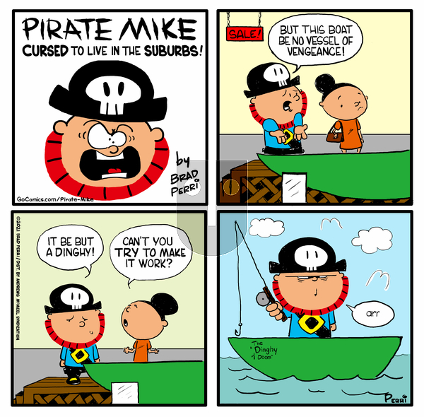 Pirate Mike on Wednesday March 24, 2021 Comic Strip