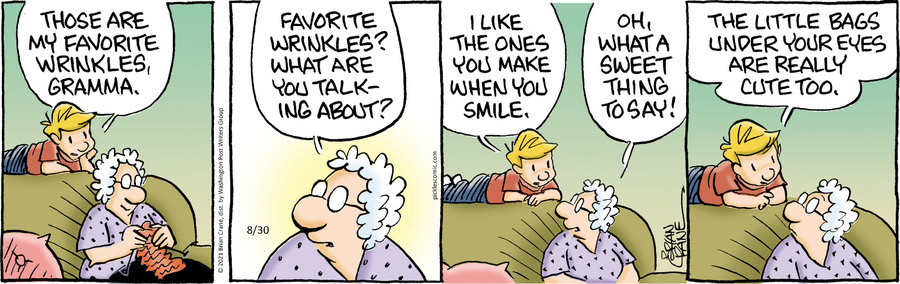 Pickles Comic Strip for August 30, 2021