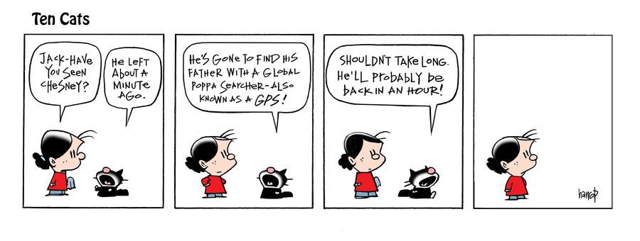 Ten Cats Comic Strip for June 10, 2021