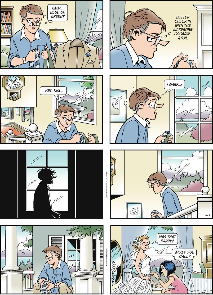 Doonesbury Comic Strip for June 17, 2012