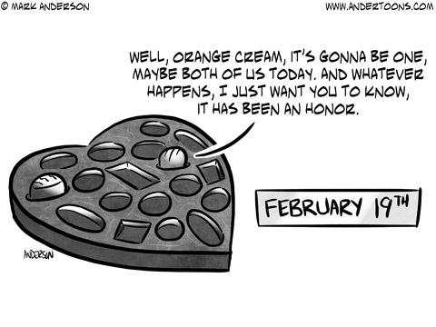 Andertoons for Feb 19, 2018 Comic Strip