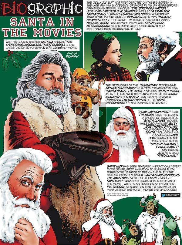 Biographic on Sunday December 23, 2018 Comic Strip