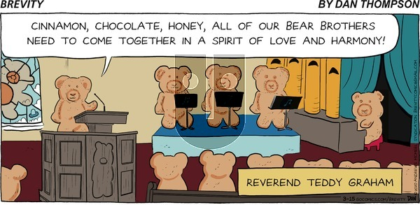Brevity on Sunday March 15, 2020 Comic Strip