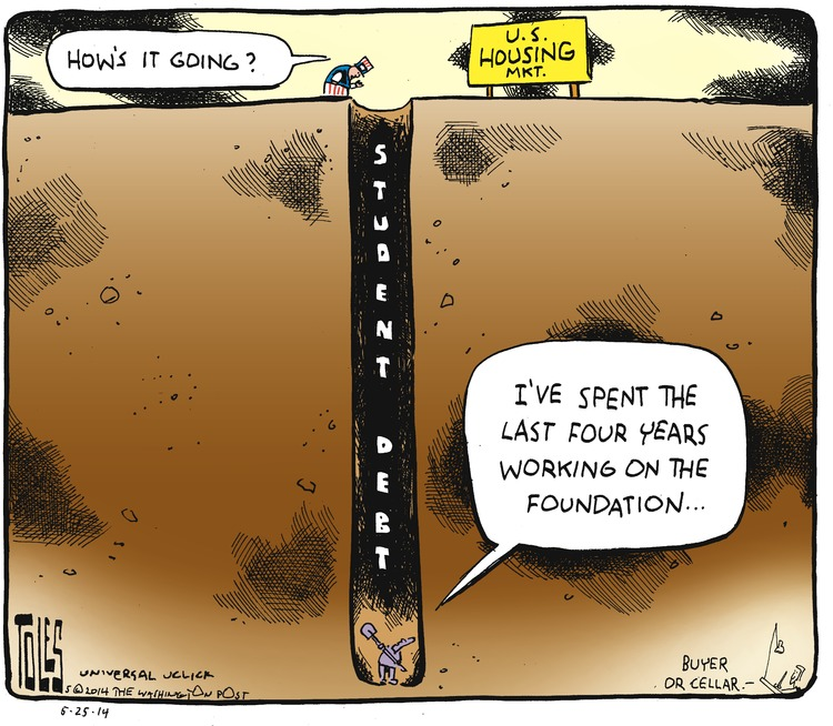 Tom Toles Comic Strip for May 25, 2014