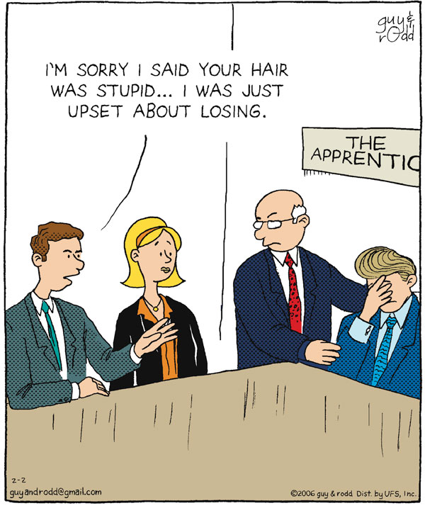 Brevity for Feb 2, 2006 Comic Strip