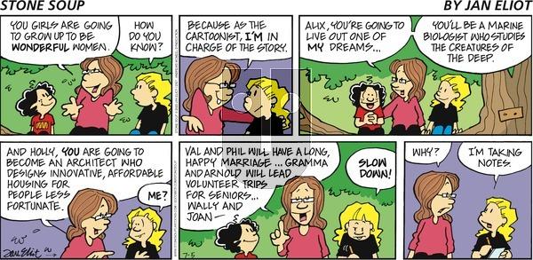 Stone Soup - Sunday July 5, 2020 Comic Strip