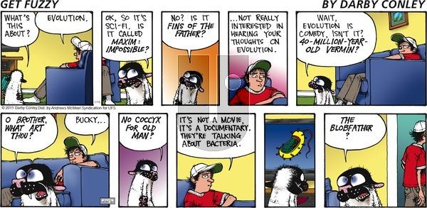 Get Fuzzy on Sunday January 15, 2017 Comic Strip