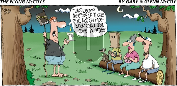 The Flying McCoys on Sunday July 7, 2013 Comic Strip