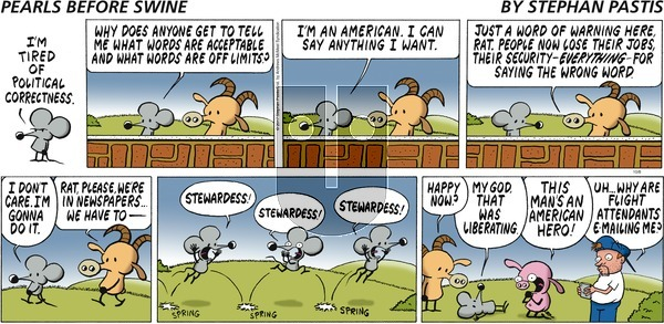 Pearls Before Swine on Sunday October 8, 2017 Comic Strip