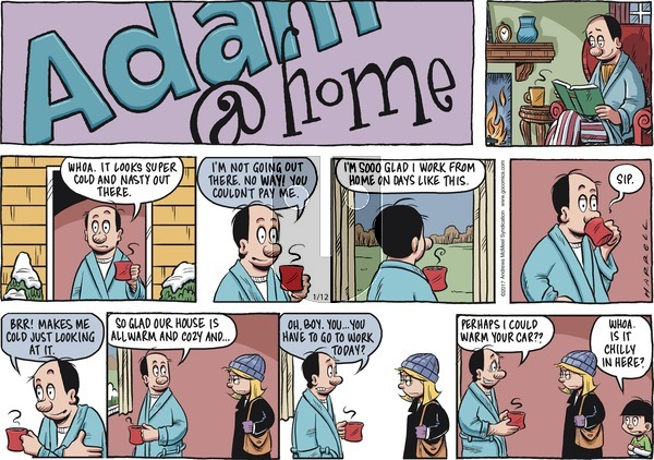 Adam@Home on Sunday January 12, 2020 Comic Strip