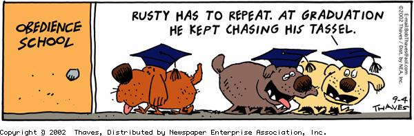 Frank and Ernest Comic Strip for September 04, 2002