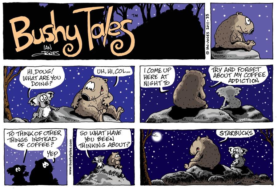 Bushy Tales for Sep 6, 2015 Comic Strip