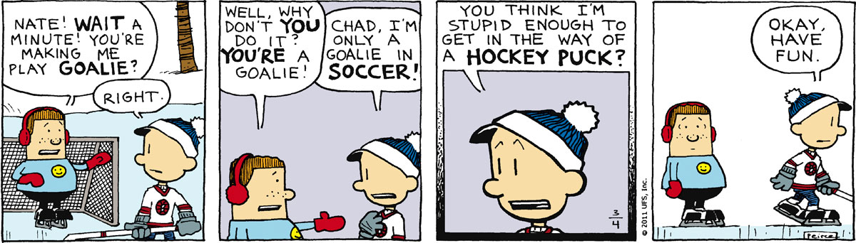 Big Nate Comic Strip for March 04, 2011