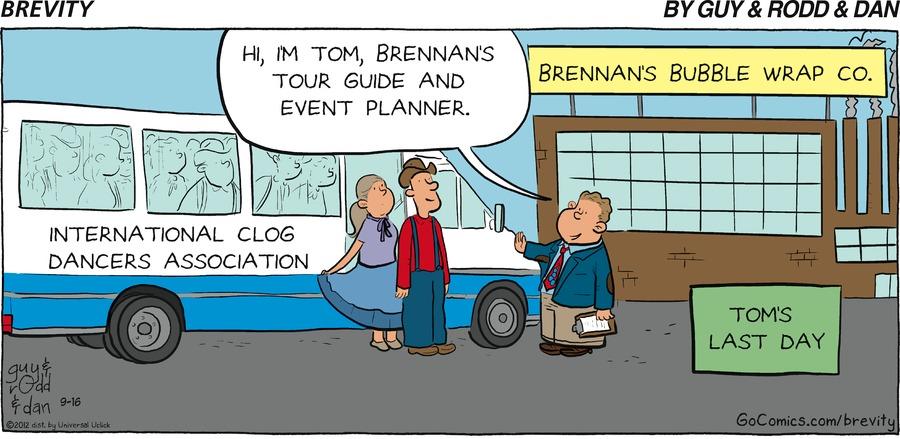 Brevity for Sep 16, 2012 Comic Strip
