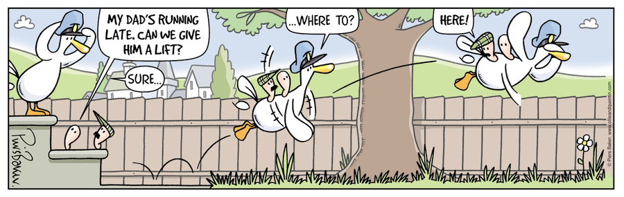 Ollie and Quentin for May 3, 2013 Comic Strip