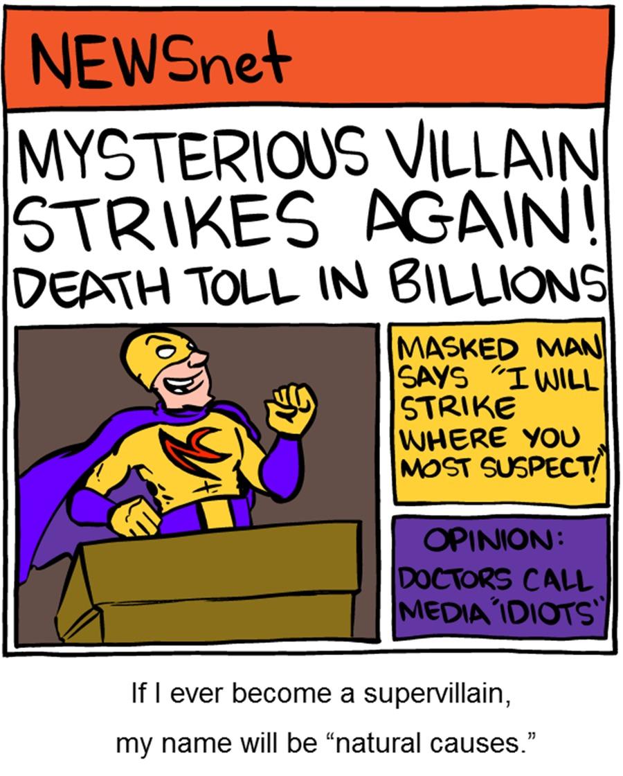 Saturday Morning Breakfast Cereal Comic Strip for December 14, 2014