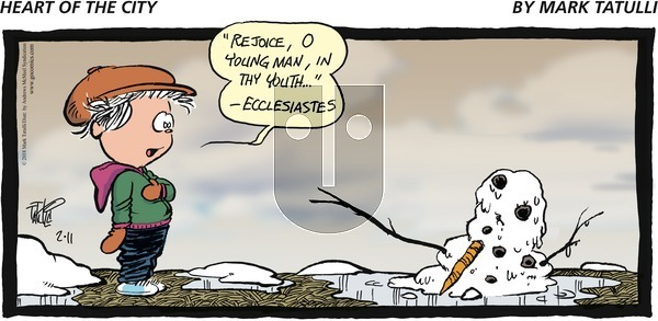 Heart of the City on Sunday February 11, 2018 Comic Strip