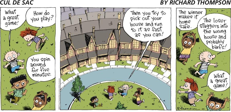 Cul de Sac for Aug 6, 2017 Comic Strip