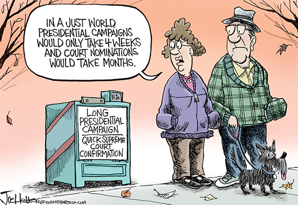 Joe Heller Comic Strip for October 29, 2020
