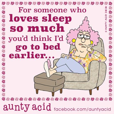 Aunty Acid Comic Strip for February 21, 2020