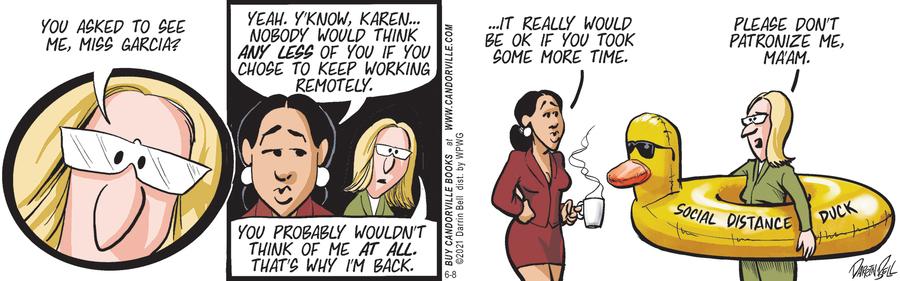 Candorville Comic Strip for June 08, 2021