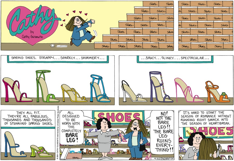 Cathy for Apr 22, 2012 Comic Strip