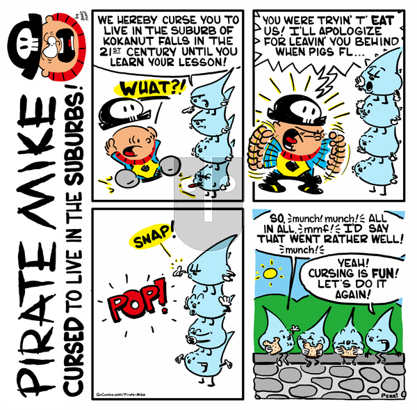 Pirate Mike on Monday May 4, 2020 Comic Strip