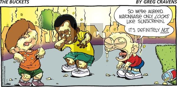 The Buckets - Sunday August 9, 2020 Comic Strip