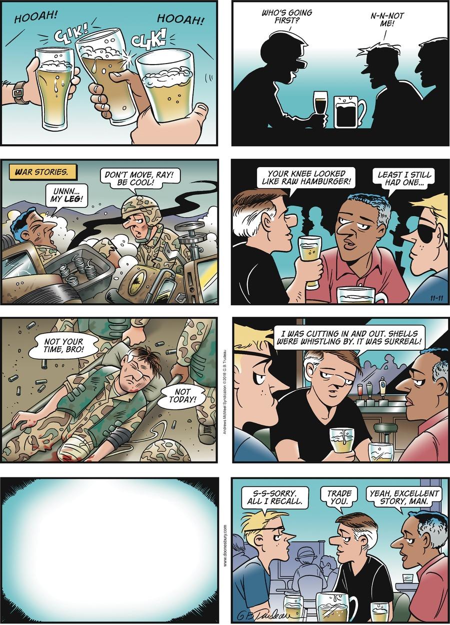 Doonesbury Comic Strip for November 11, 2018