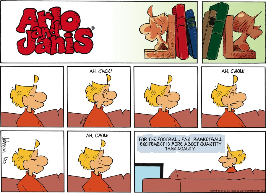 Arlo and Janis Comic Strip for January 26, 2014