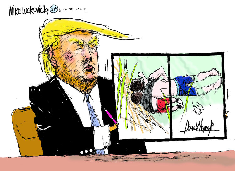 Mike Luckovich Comic Strip for June 27, 2019