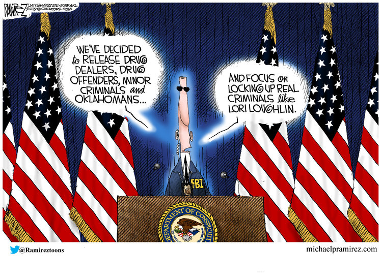 Michael Ramirez Comic Strip for November 13, 2019