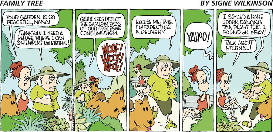 Family Tree Comic Strip for August 16, 2009