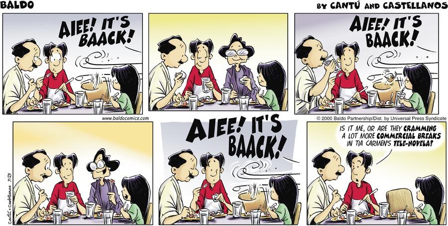 Baldo for July 23, 2000 Comic Strip