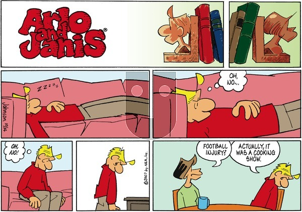 Arlo and Janis on Sunday October 14, 2007 Comic Strip