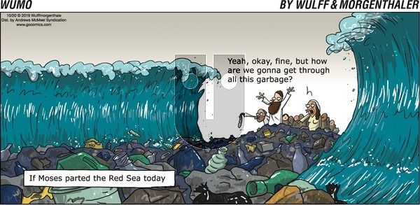 WuMo on Sunday October 20, 2019 Comic Strip