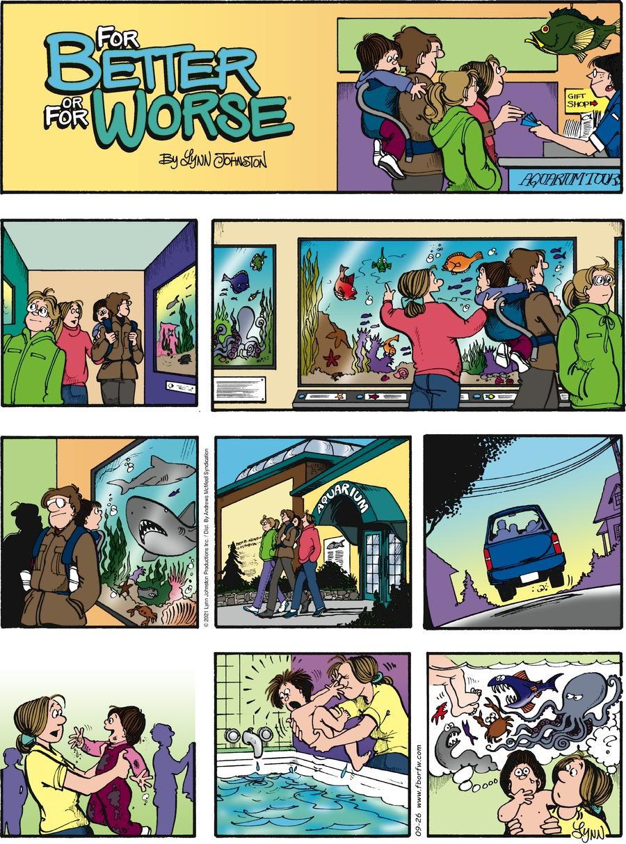 For Better or For Worse Comic Strip for September 26, 2021