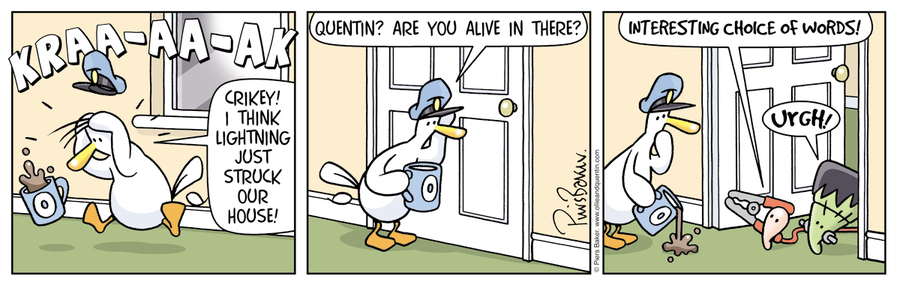 Ollie and Quentin Comic Strip for February 22, 2021